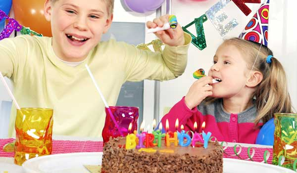 How to Wing a Stress-Free Kids Birthday Party